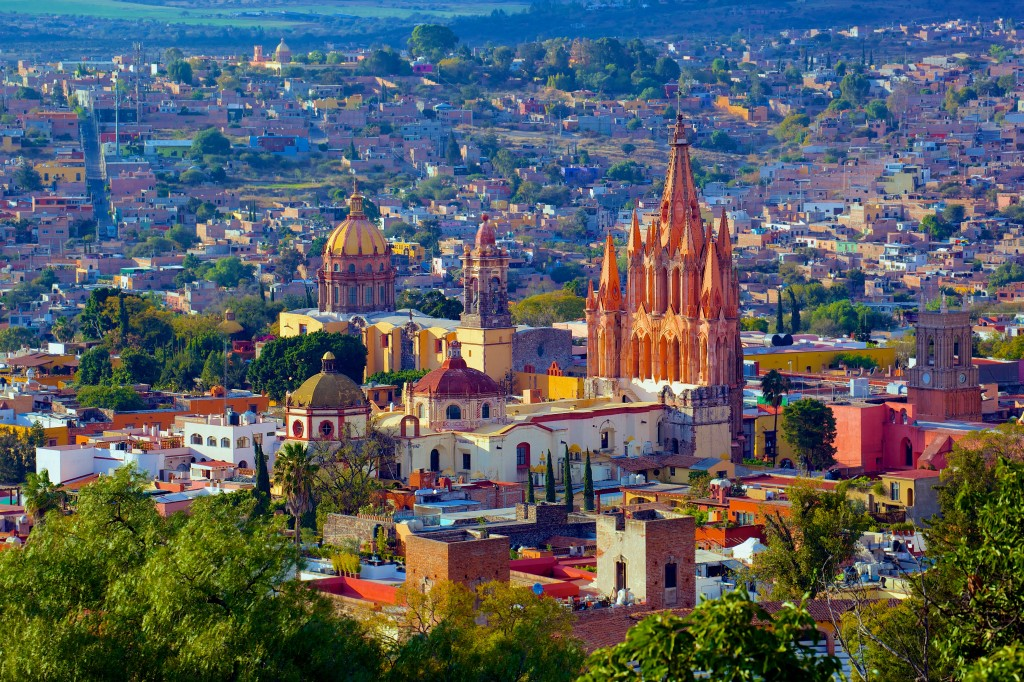 San Miguel de Allende. CC license photo. Thanks Wikipedia.